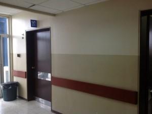 En la habitación 317 del hospital de la Policía en Guayaquil está Glas desde hace tres meses.