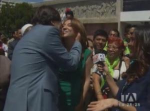Edwin jarrin y Ma Soledad Buendía