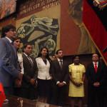 Consejeros oficialistas celebran su nombramiento