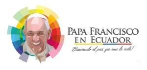 LOGO del gobierno para visita del Papa Francisco