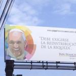Imagen de Francisco, eslogan del gobierno