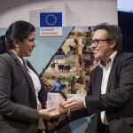 La Unión Europea premió a LaHistoria.ec