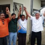 Transportista Francisco Sampedro recuperó su libertad