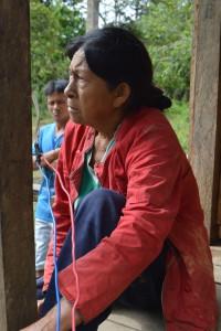 Rosa Antún, la madre de José Tendetza se, lamenta a diario por la ausencia de su hijo.