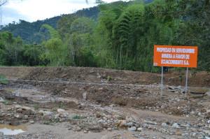 No queda nada del barrio San Marcos de Tundayme, que fue desalojado por ECSA.