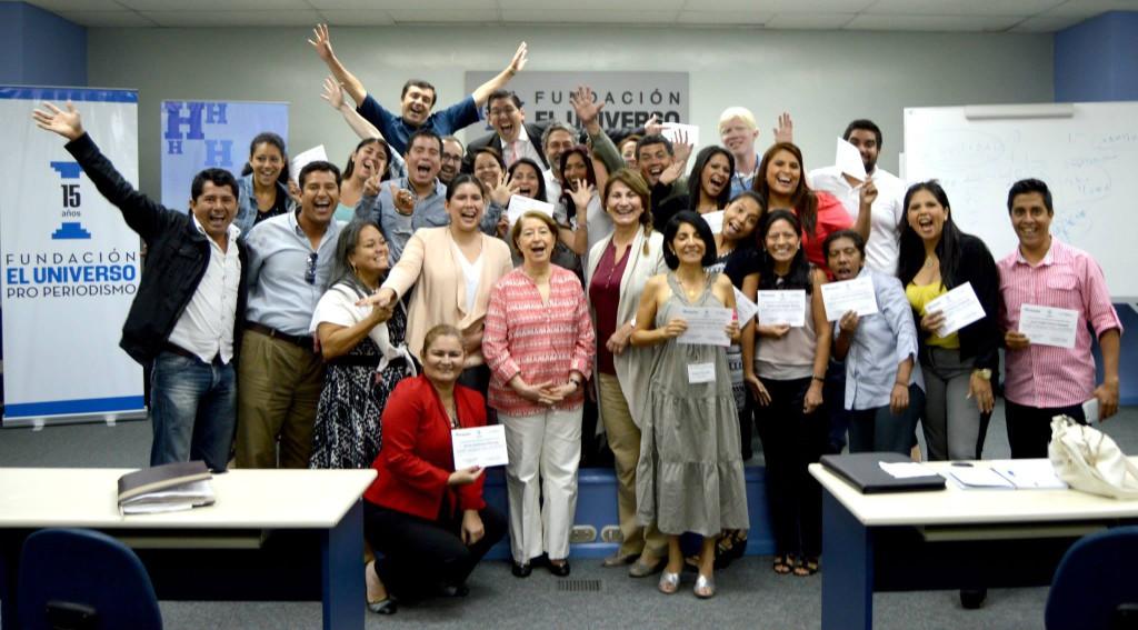 El último seminario internacional de periodismo lo hizo la Fundación El Universo en abril de 2015, en conjunto con La Historia.
