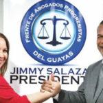 Pamela Martínez quería ver a su esposo como Presidente de la República